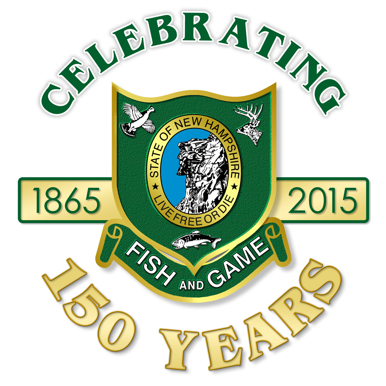 Celebrate 150 years new hampshire fish and game department for Nh fish game