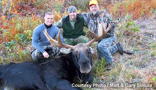 Moose hunt gallery hunting new hampshire fish and game for Nh fish and game license